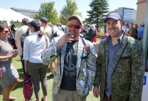 smoking jackets at rocky mountain cigar fest